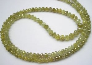 Yellow Diamond beads