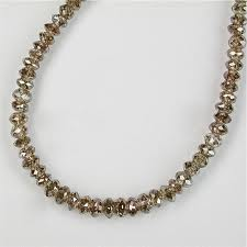 Brown Diamonds Beads